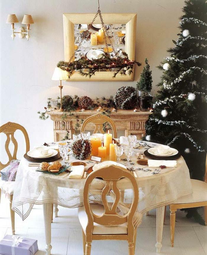 weihnachtliche tischdeko selbst gemacht 55 festliche tischdekoration ideen. Black Bedroom Furniture Sets. Home Design Ideas