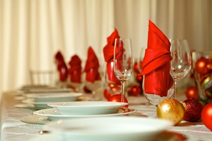weihnachtliche tischdeko selbst gemacht 55 festliche. Black Bedroom Furniture Sets. Home Design Ideas