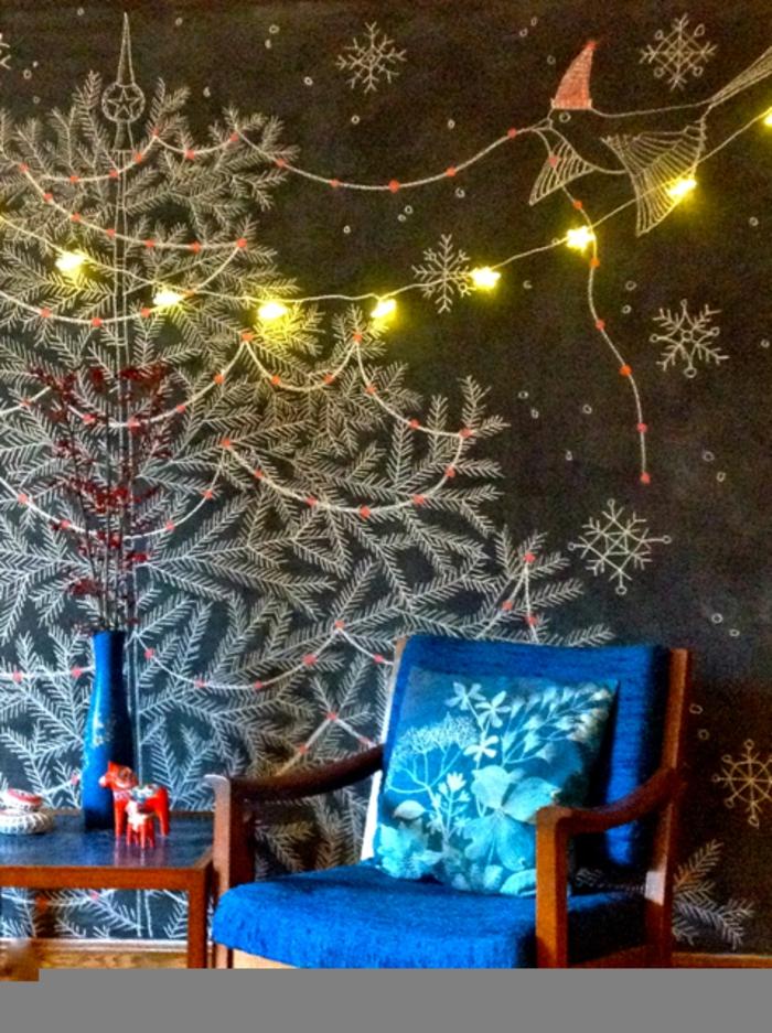 weihnachtsbaum künstlich gezeichnet