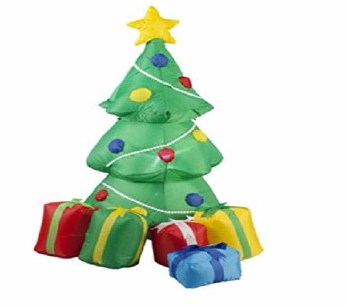 weihnachtsbaum künstlich künstlicher weihnachtsbaum test aufblasbar