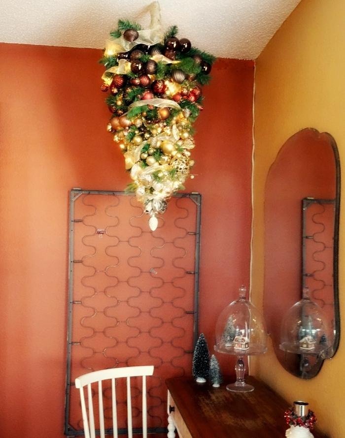 weihnachtsbaum künstlich künstlicher weihnachtsbaum test durch decke