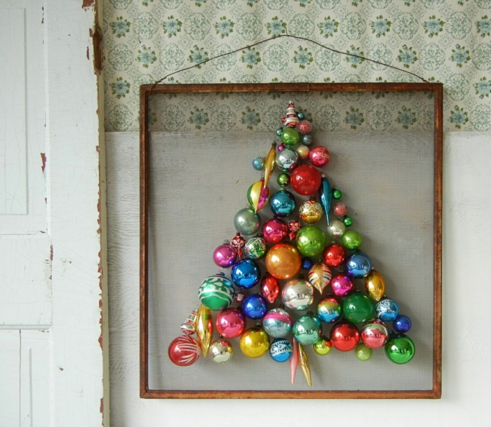 weihnachtsbaum künstlich künstlicher weihnachtsbaum test durch wand bilderrahmen-weihnachtsschmuck