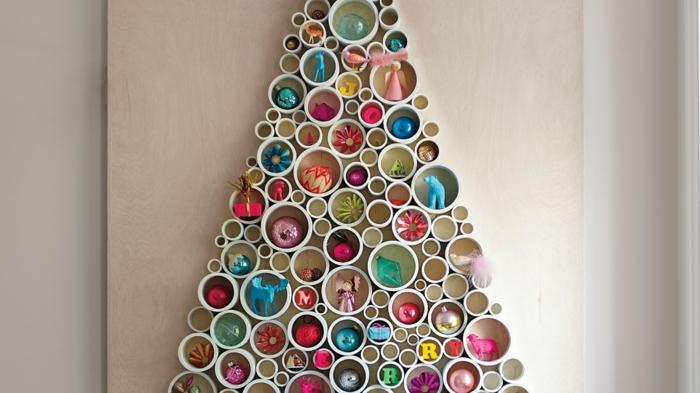weihnachtsbaum künstlich künstlicher weihnachtsbaum test durch wand kunststoff