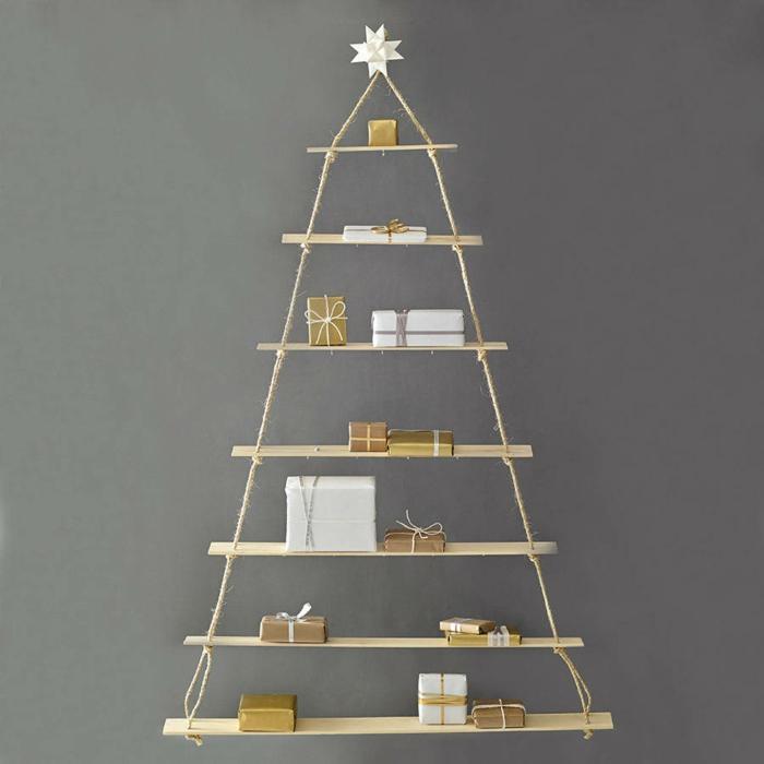 künstlich künstlicher weihnachtsbaum test durch wand regal
