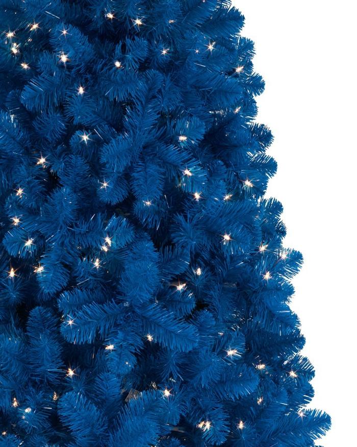 weihnachtsbaum künstlich künstlicher weihnachtsbaum test durch wand wandsticker blau baum