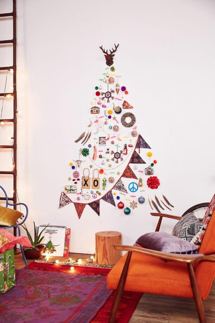 weihnachtsbaum künstlich künstlicher weihnachtsbaum test durch wand wandsticker glückwünsche