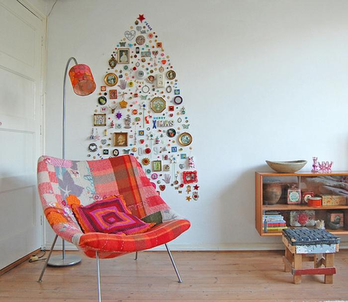 weihnachtsbaum künstlich künstlicher weihnachtsbaum test durch wand wandsticker kleinigkeiten