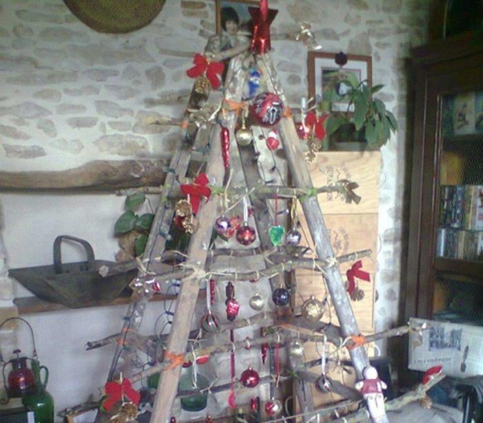 weihnachtsbaum künstlic künstlicher weihnachtsbaum test durch wand wandsticker leiter