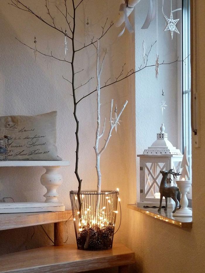 Weihnachtsschmuck im skandinavischen stil 46 ideen wie for Decoration fenetre noel pinterest