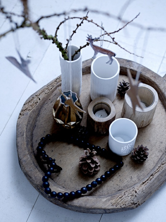 weihnachtsdeko ideen skandinavischer weihnachtsschmuck