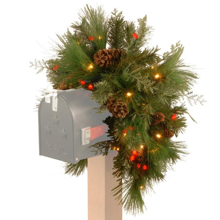 weihnachtsdekoration  weihnachtsschmuck  briefkasten