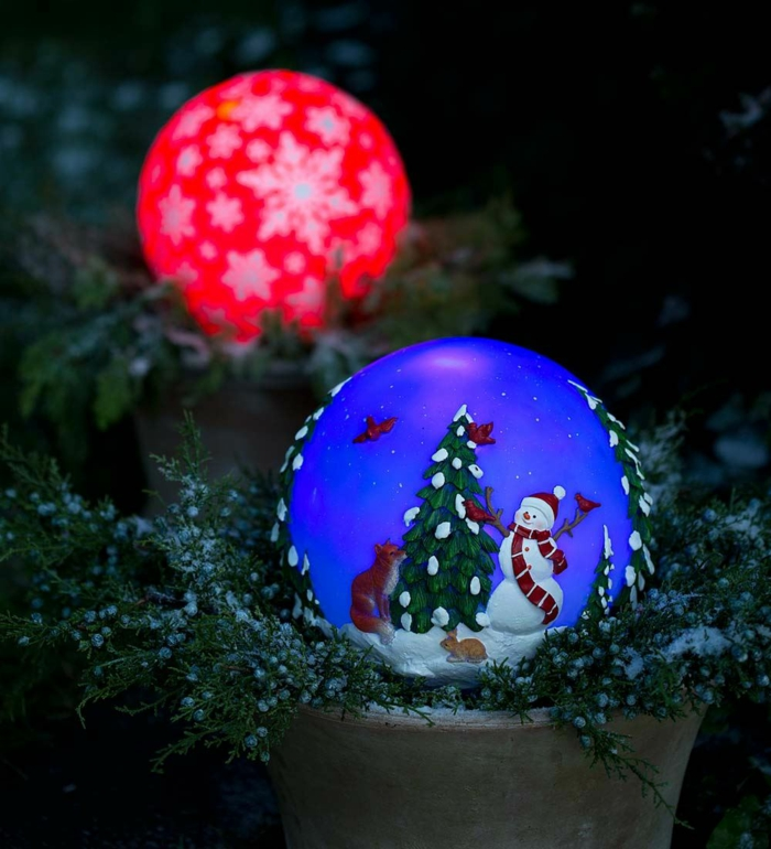 weihnachtsdekoration aussen weihnachtsschmuck für draussen