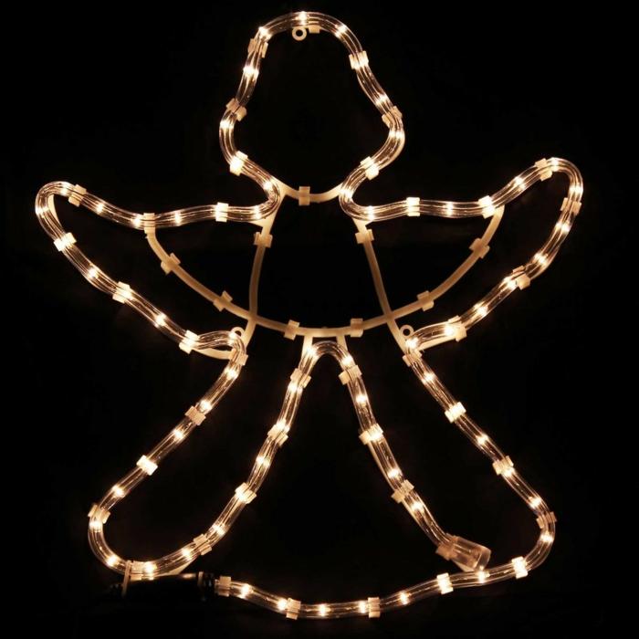 weihnachtsdekoration aussen weihnachtsschmuck lichterkette blumentoepfe englel