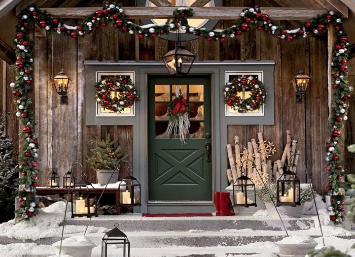 weihnachtsdekoration aussen weihnachtsschmuck lichterkette blumentoepfe mr romantisch