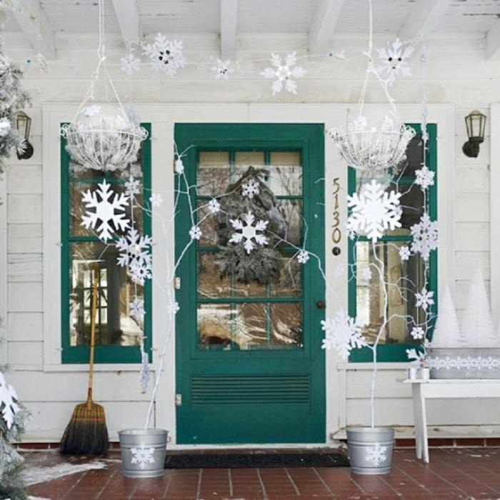 Weihnachtsdeko Für Die Tür.62 Stimmungsvolle Ideen Für Weihnachtsdekoration Aussen