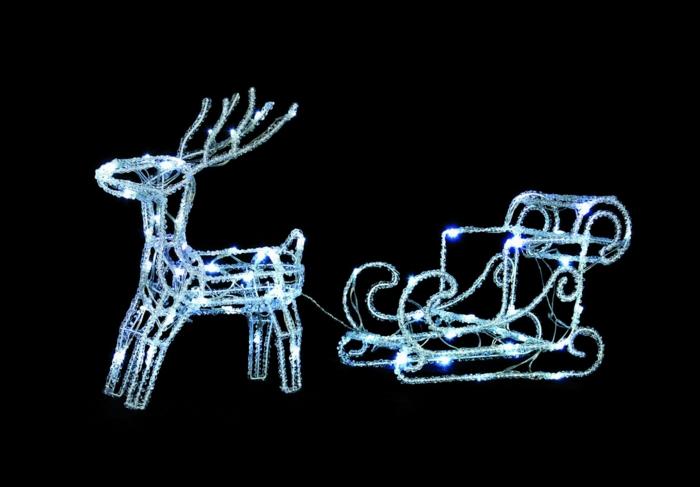 weihnachtsdekoration aussen weihnachtsschmuck renntier