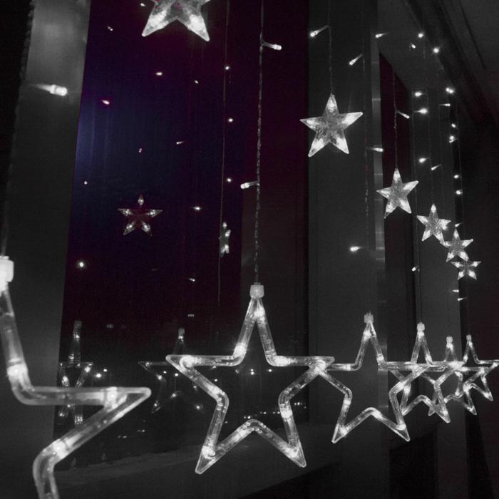 weihnachtsdekoration  weihnachtsschmuck sterne weiss