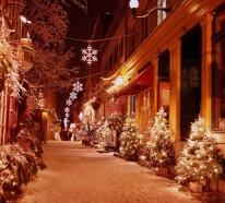 62 stimmungsvolle Ideen fürWeihnachtsdekoration aussen