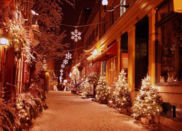 weihnachtsdekoration  weihnachtsschmuck strasse