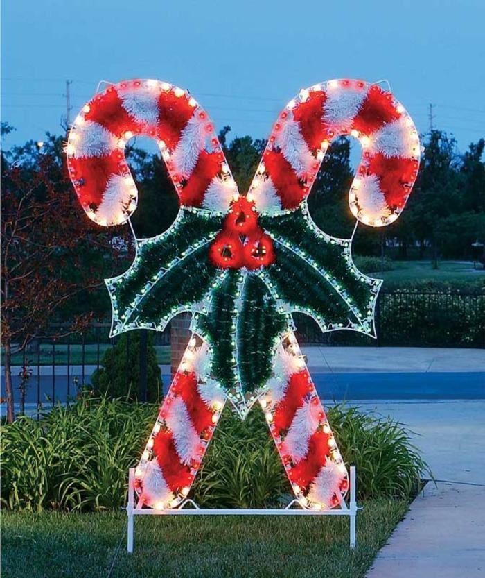 weihnachtsdekoration  weihnachtsschmuck zuckerstange