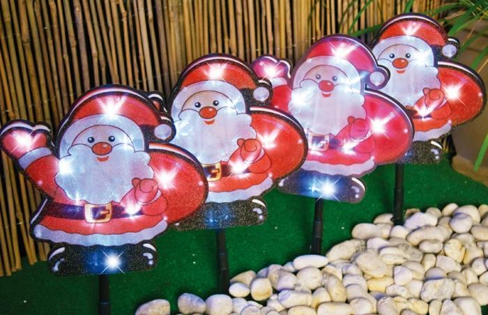 weihnachtsdekoration aussen weihnachtsschmuck zwerge