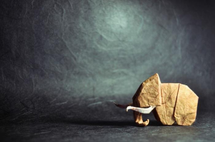 weihnachtsgeschenke basteln bastelideen babyelefant