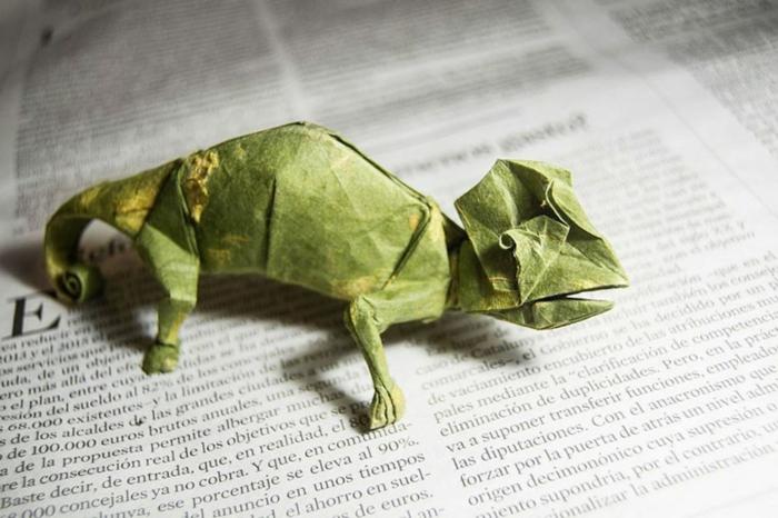 weihnachtsgeschenke basteln bastelideen chameleon