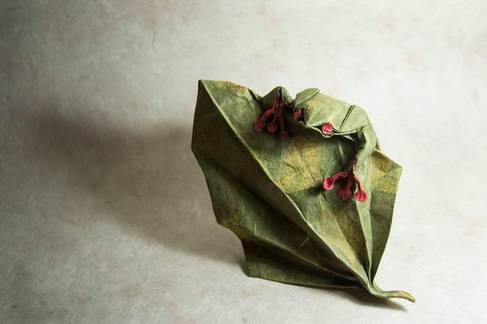 weihnachtsbasteln bastelideen frosch
