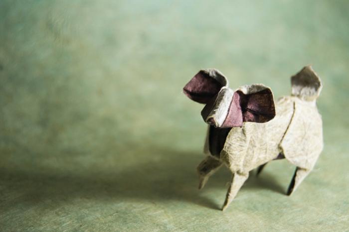 weihnachtsbasteln bastelideen hund