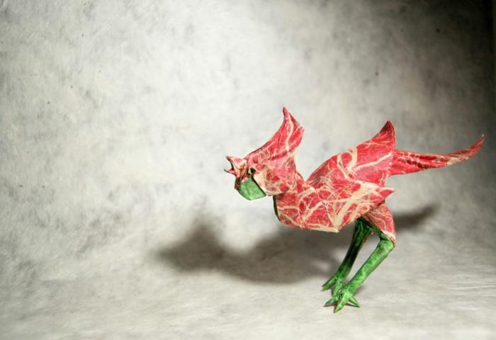 weihnachtsbasteln basteln bastelideen vogel