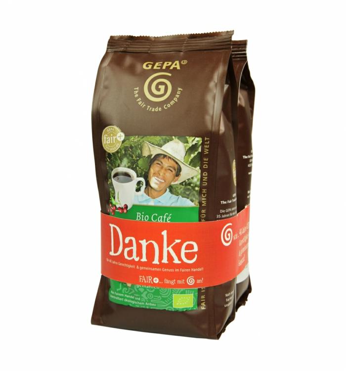 weihnachtsgeschenkideen fair trade bio cafe danke gepa