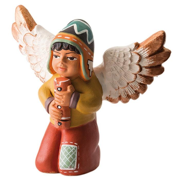 weihnachtsgeschenkideen fair trade engel flöte peruanisch dwp