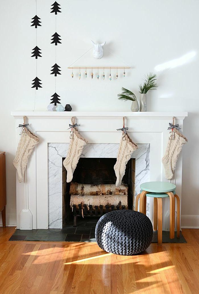 Skandinavisch dekorieren  Weihnachtsschmuck im skandinavischen Stil - 46 Ideen, wie Sie das ...