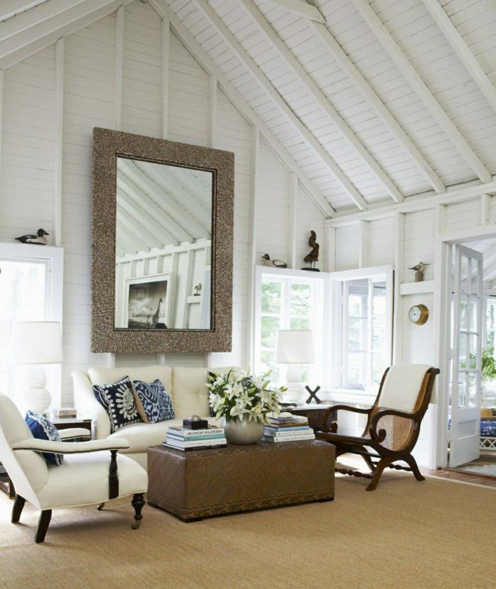63 wohnzimmer landhausstil - das wohnzimmer gemütlich gestalten, Wohnzimmer
