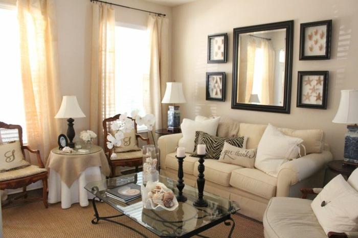 63 wohnzimmer landhausstil - das wohnzimmer gemütlich gestalten - Wohnzimmer Landhausstil Modern