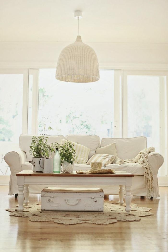 63 wohnzimmer landhausstil das wohnzimmer gem tlich gestalten. Black Bedroom Furniture Sets. Home Design Ideas
