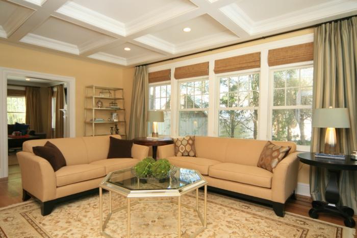 ▷ 1001+ wohnzimmer ideen - die besten nuancen auswählen! - Wohnzimmer Braun Beige Streichen