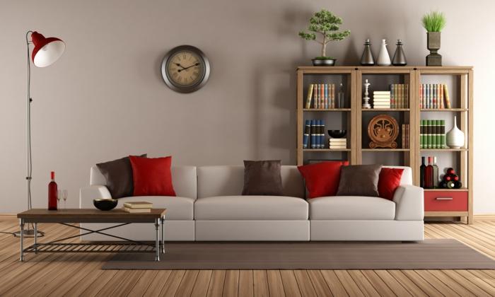de.pumpink.com | antike möbel in moderner wohnung - Wohnzimmer Streichen Tipps