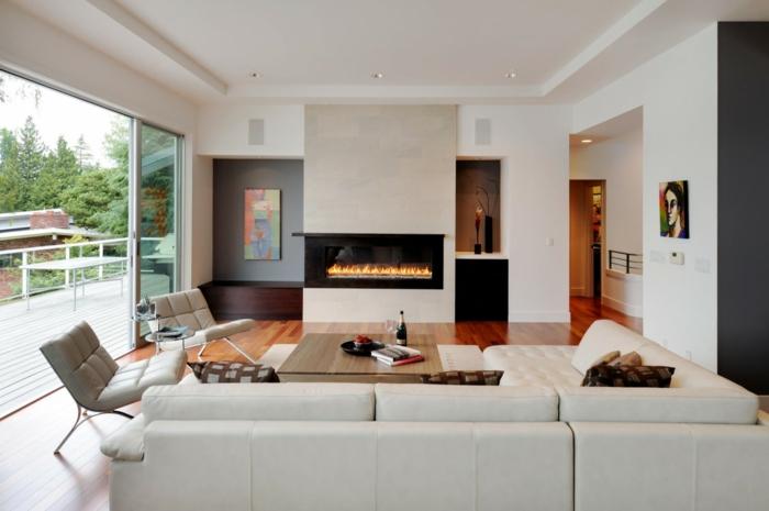 kamin idee zweiseitig. Black Bedroom Furniture Sets. Home Design Ideas
