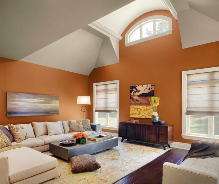Frisch Farbe Wohnzimmer ~ Wohnzimmer ideen die besten nuancen auswählen