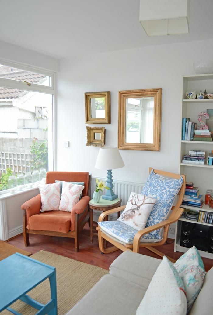 Wand streichen ideen wohnzimmer streifen grau weiss tuerkis wohnzimmerwnde ideen tapezieren - Wohnzimmer ideen wand streichen ...
