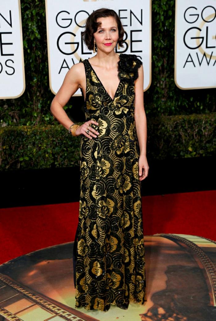 Abendkleider lang Golden Globes 2016 magie gilenhall