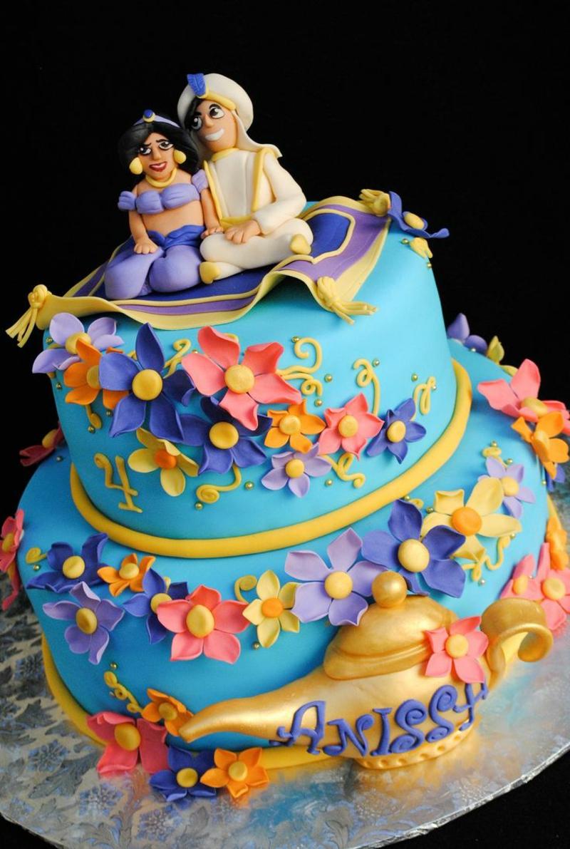 Aladin Kindertorte Geburtstagstorten Bilder Tortendeko