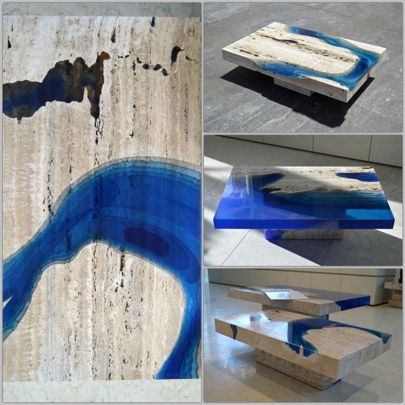 Alexandre Chapelin Couchtisch Design Wohnzimmertische La Table