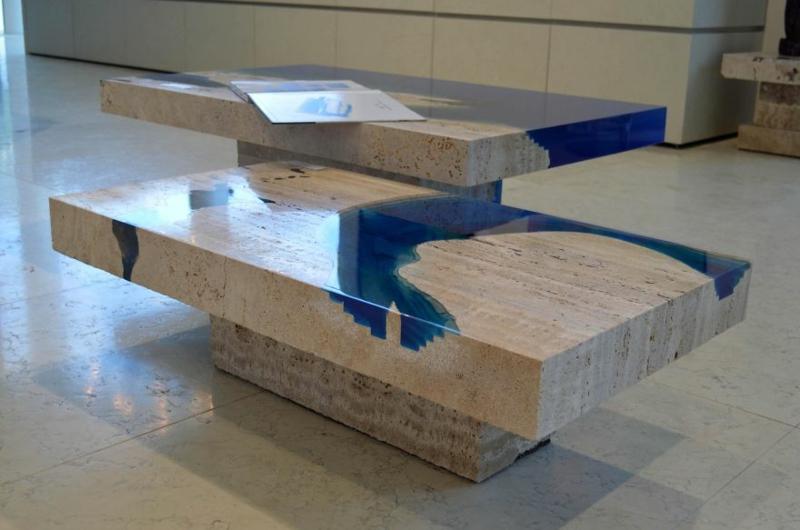 lagune-couchtische sind wohnzimmertische mit individuellem charakter - Marmor Wohnzimmer Tische