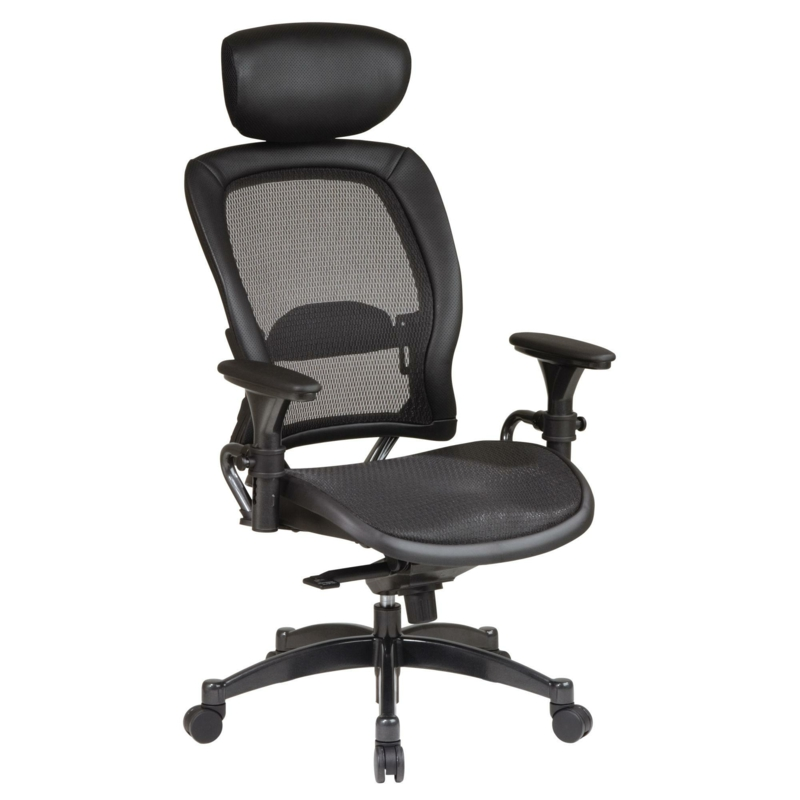 Bürostuhl Test ergonomischer Drehstuhl schwarz