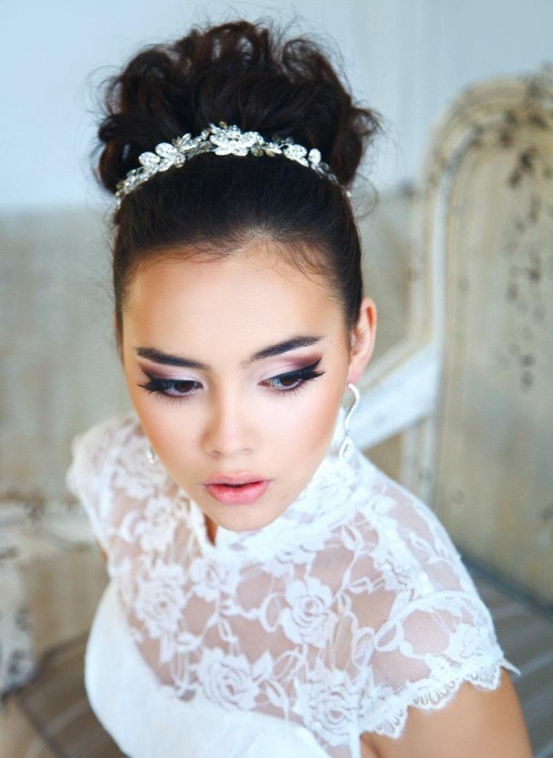 1001 Ideen Für Brautfrisuren Offen Halboffen Oder Hochgesteckt