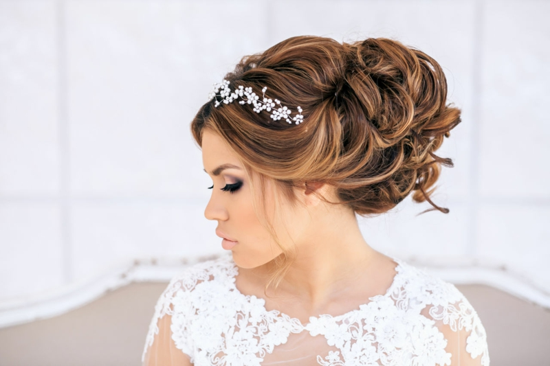 ▷ 45+ Ideen für Brautfrisuren: offen, halboffen oder hochgesteckt?