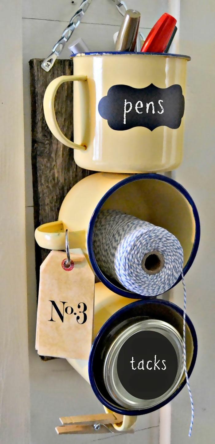 upcycling ideen kuechenutensilien aus alt macht neu Coole Bastelideen DIY bastelideen alte küchenkrams aufbewahrung