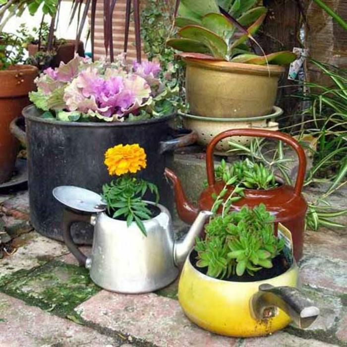 101 ausgefallene upcycling ideen mit alten kchenutensilien - Upcycling Ideen Garten